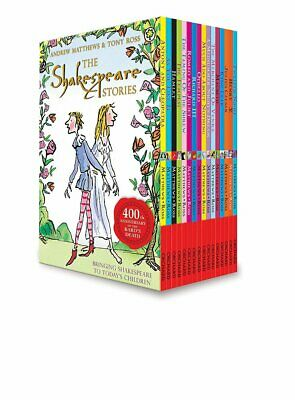 The Shakespeare Stories 16 COPY BOX SET PB