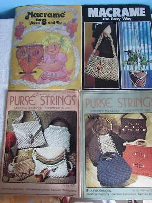 4 - Macrame Pattern Books