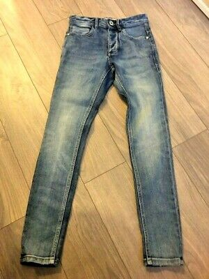"Mens/Older Boys/Teenager Super Skinny Jeans From Next Size 26"" Short"