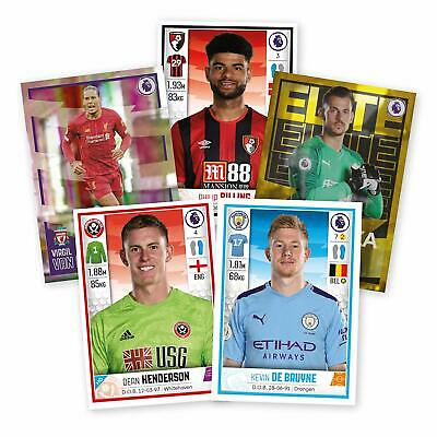 Panini Football 2020 Stickers -  x 50 All Different