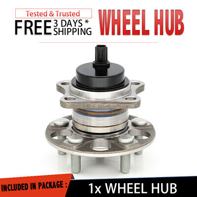 PAIR Rear Wheel Hub Bearing Assembly for Toyota Prius FWD 4X2 2010-2015