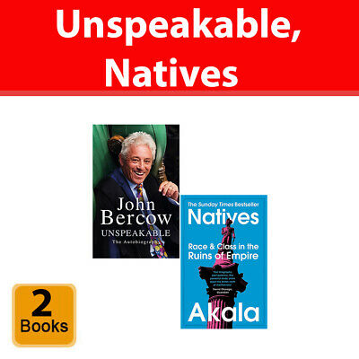 Unspeakable The Autobiography, Natives Race and Class 2 Books Collection Set NEW
