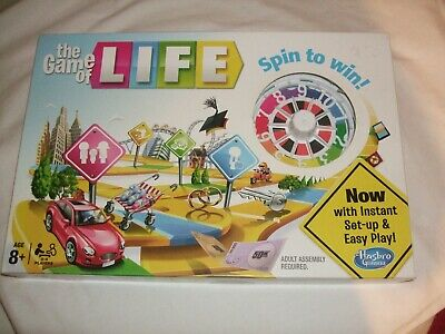 The Game of Life Spin To Win -Instant Set Up & Easy Play- Hasbro - Ireland 2013