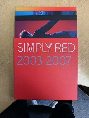 Simply Red - 2003-2007 - Vinyl Box Set