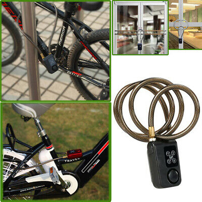 "110db Alarm 31/"" Covered Chain NUNET Nulock Keyless Bluetooth Bike Smart lock w"