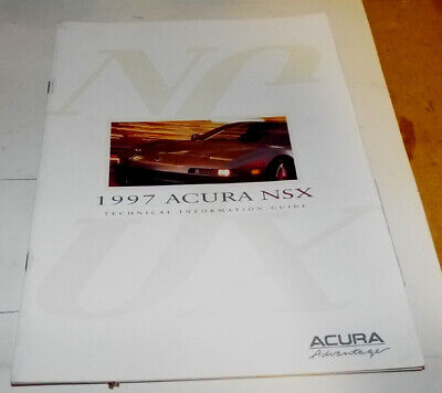 1997Acura NSX Technical Information Guide E1294 Manual Comparisons to '96 Model