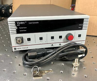 New Focus Vortex 6000 Tunable External-Cavity Diode Laser ECDL Controller Tested