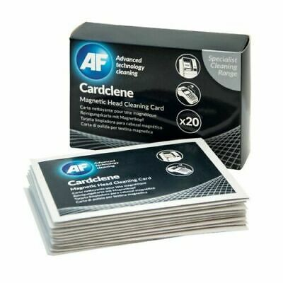 AF Cardclene , ATM and POS Magnetic Head Cleaning Card Pack of 20