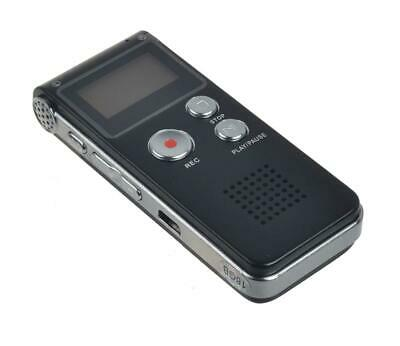 16GB  USB Digital Sound Voice Recorder Dictaphone MP3 Player Rechargeable
