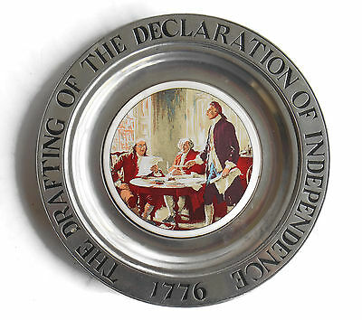 WILTON ARMETALE Pewter 1776 Declaration of Independence  RWP Columbia PA