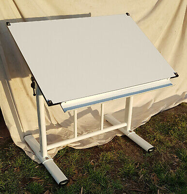 Draftex drawing desk. Large heavy duty adjustable angle and height desk.