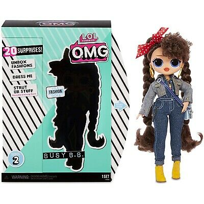 MGA 565116E7C - L.O.L. Surprise O.M.G. - Fashion Dolls Serie 2, BUSY B.B.