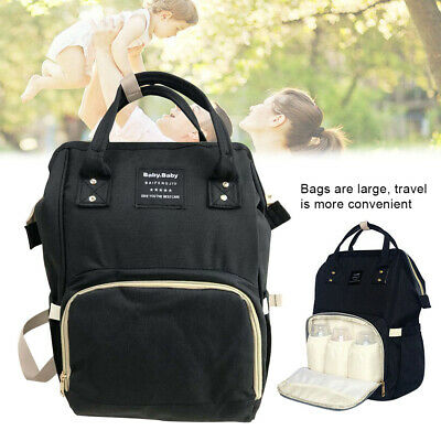 Multifunctional Baby Diaper Nappy Backpack Mummy Nursing Changing Bag Portable