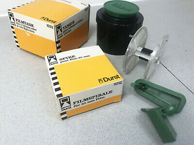 Durst 1022 Film tank and 1012 35mm Film reel and loader