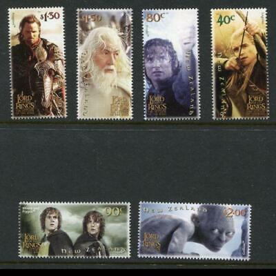 New Zealand 2003 MNH MUH Set - Lord of the Rings - Return of the King.