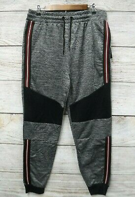 Modern Culture Mens Size 3X 3XB Red Spacedyed Fleece Sweat Jogger Pants New