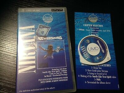 Nirvana  - Nevermind - Classic Albums UMD For Sony PSP
