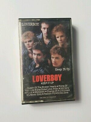 Loverboy Keep It Up (1983 Columbia) Audio Cassette