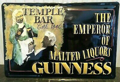 GUINNESS HAVE A SANDWICH Vintage Metal Pub Sign3D Embossed SteelHome Bar