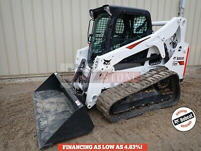 2019 Bobcat T650 Track Loader, Erops, Heat/Ac, 2 Spd, Hi Flow, 153 Hrs! Rev Fan