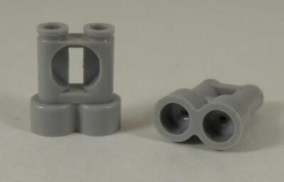 NEW Lego Lot//2 Dark GRAY BINOCULARS City Minifig//Minifigure Army Soldier Tool