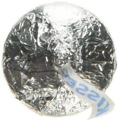 Silver Hershey's Kisses Milk Chocolate Candy 5LB Bag (Warm Weather Packaging)