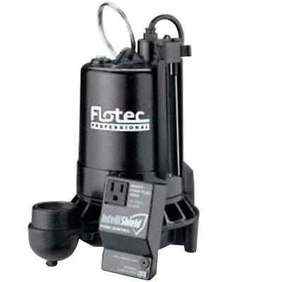 Flotec E100ELT, 1 HP Electronic Submersible Cast Iron Sump Pump w/ IntelliShield