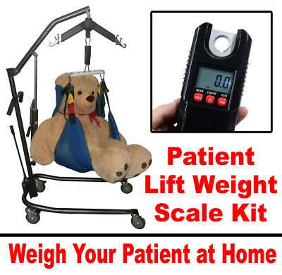 Patient Lift Scale - Works With Any Patient Lift & Any Lift Sling - NEW