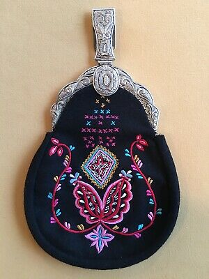 Authentic Norwegian Bunad Purse  From Norway