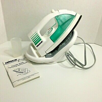 USE WITH OR WITHOUT CORD CORDLESS STEEM IRON MODEL # JP-8100-CA NEWEST MODEL  SPEED IRON XL  1350 WATTS CORDLESS STEEM IRON NEWEST MODEL  SPEED IRON XL  1350 WATTS USE WITH OR WITHOUT CORD MODEL # JP-8100-CA ORECK CORPORATION ORECK