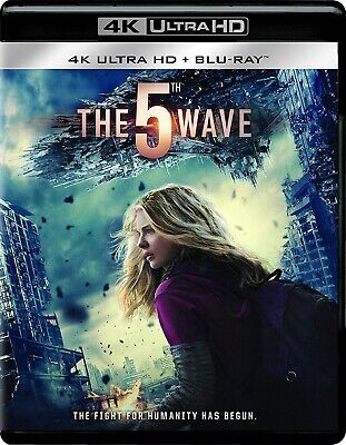 The 5th Fifth Wave (4K Ultra HD/Blu-ray Disc, 2016, 2-Disc Set) *Brand New*