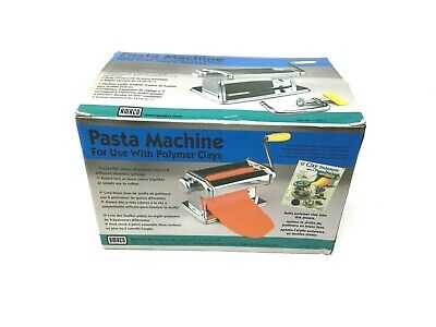 AMACO Pasta Machine for Polymer Clays and Soft Metal Sheets 12381S