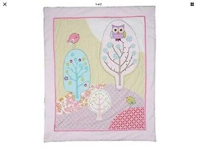 Cot Quilt/ Doona Cover. Approx 98 X 118 Cm