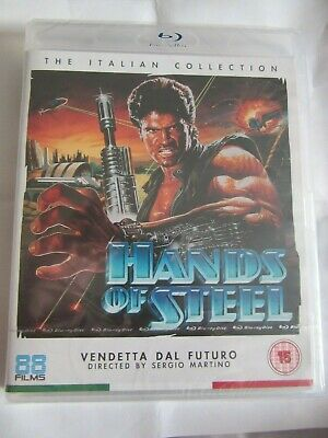 Hands Of Steel, Blu Ray, 88 Films, The Italian Collection, Sergio Martino, Cult