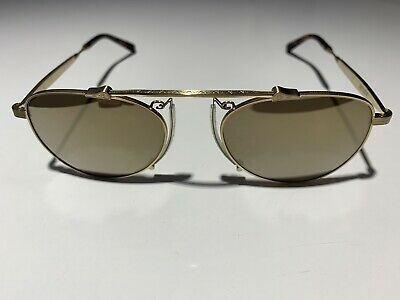 New Authentic MATSUDA M3032 AS Antique Silver//Grey Polarized 51mm Sunglasses
