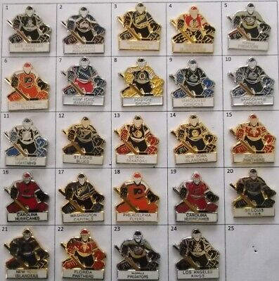 Different Teams Nhl Hockey Goalie Goaltender Player Pin (Your Choice) # G790