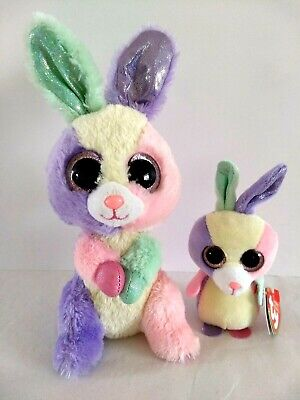 "Ty Basket Beanies Bloom the Easter Bunny 4/"" Tall"