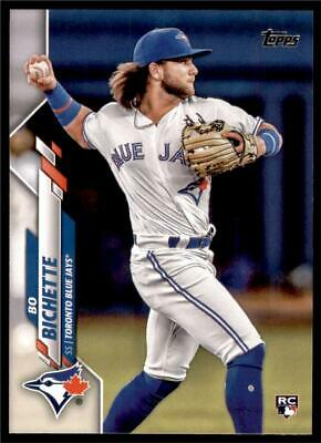 2020 Topps Series 1 Base #78 Bo Bichette - Toronto Blue Jays RC