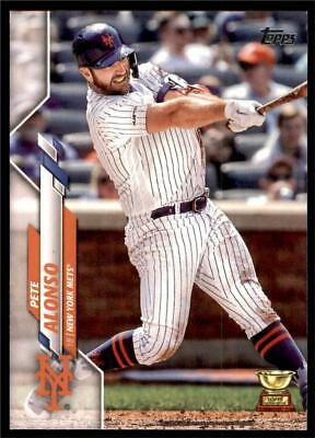 2020 Topps Series 1 Base #350 Pete Alonso - New York Mets CUP