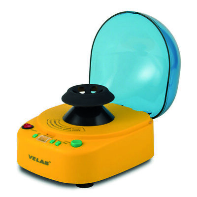 VELAB Micro Centrifuge w/ Variable Speed and 4 Rotors 12k RPM