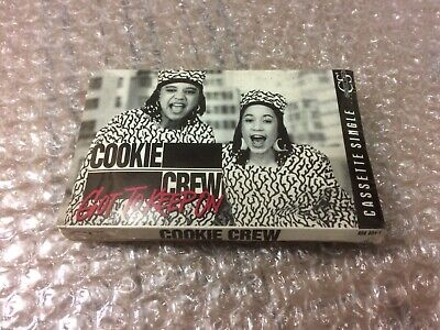Cookie Crew Got To Keep On Factory Sealed Cassette Single C55