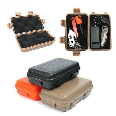 Waterproof Outdoor Plastic Airtight Survival Case Container Storage Carry Box EF