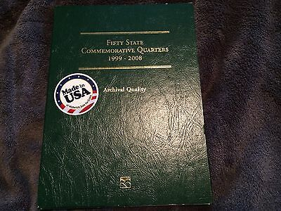 50 US State Quarters Complete Set Littleton Album 1999-2008 - Instant Collection