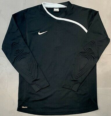 Retro Nike 2008 Padded NikeFit Goalkeeper Jersey - #1. Size M, Excellent Cond.