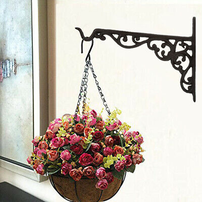 Cast Iron Basket Hanger for Potted Plant Wind Chime Bird Cage Feeder Lantern