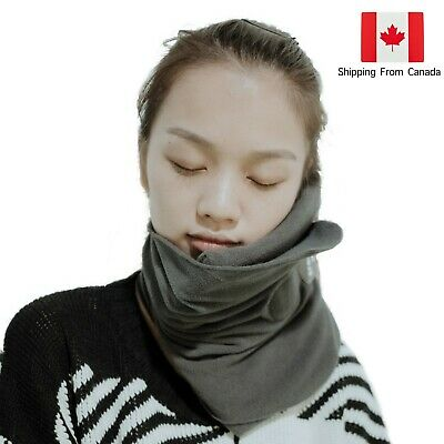 Travel Pillow Scientifically Proven Effective Super Soft Neck Head Support