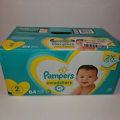 Pampers Swaddlers Disposable Diapers Size 2