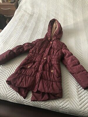Girls Winter Coat London Fogg 10-11 Used Rrp £60 Post Next Day. Great Condition,