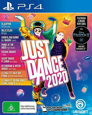 Ubisoft Just Dance 2020 PlayStation 4 PS4 GAME BRAND NEW FREE POSTAGE