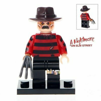 Custom Freddy Kruger Nightmare Mini Figure to fit well known brand UK Seller.